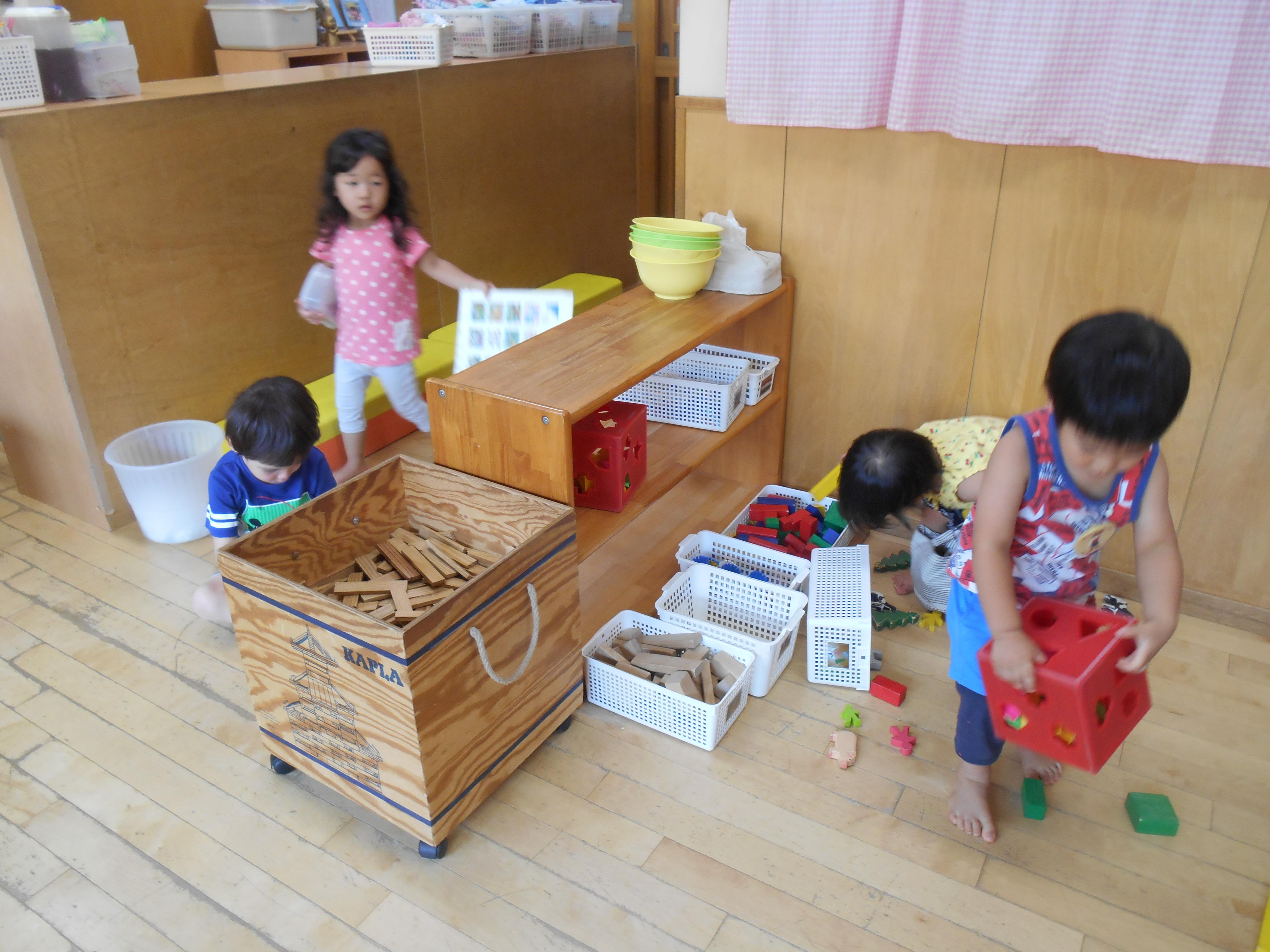歳児 2 室内 遊び
